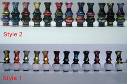 Discount more cigarettes - Never Rub Off Colorful 510 Drip Tip Electronic Cigarette EGO Mouthpiece Aluminum Metal Comfortable Fashion EGO Drip Tip