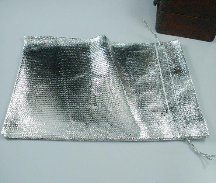 Heiß ! Silber vergoldet Gaze Schmuck Taschen Schmuck Geschenk Tasche Taschen für Hochzeit Gefälligkeiten mit Kordelzug 7x9 cm / 9 x 12 cm / 11 x 16 cm / 13 x 18 cm b52