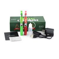 Wholesale Ego K Box - Wholesale - New arrival:Ego Electronic cigarette with retail box 2 ego-k battery 650mah 900mah +2 CE4 atomizer ego kit high quality DHL free