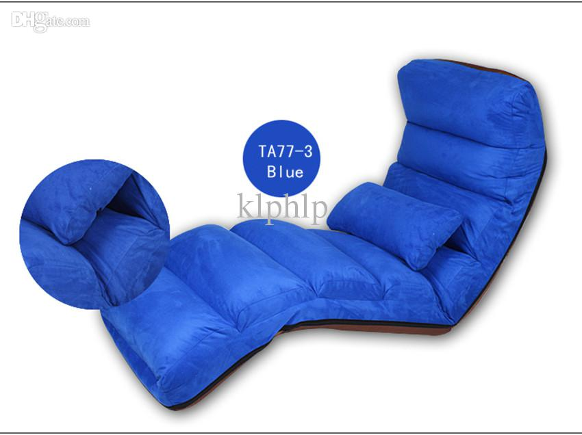 Großhandel Wash Lounge Chair Wohnzimmer Möbel Boden Folding Mutizweck 6  Farben Modern Stoff Sleeper Tagesbett Sofa Recliner Chaise Lounge Chairs  Von Klphlp, ...