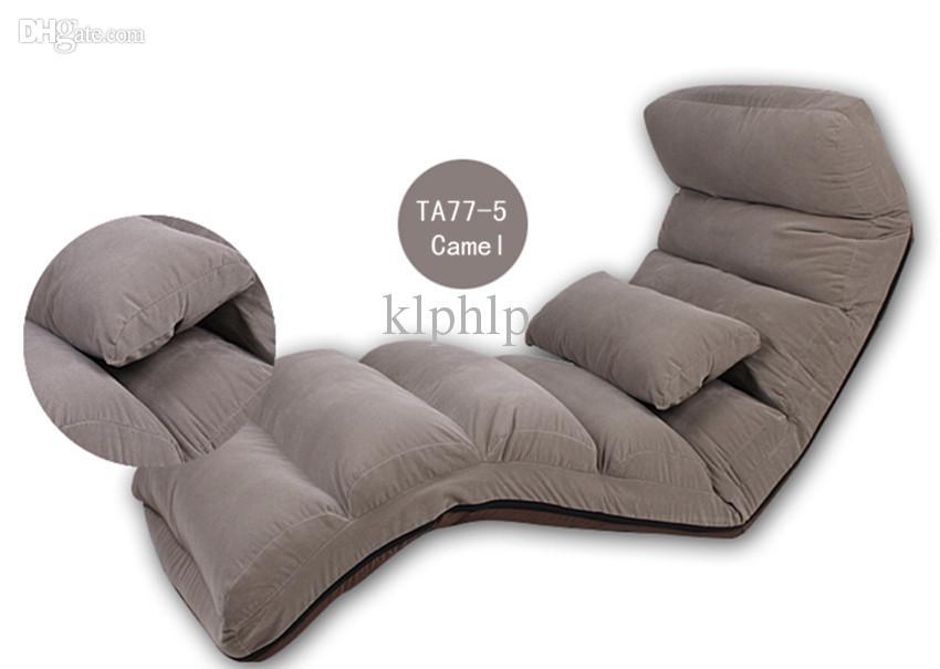 Großhandel Wash Lounge Chair Wohnzimmer Möbel Boden Folding Mutizweck 6  Farben Modern Stoff Sleeper Tagesbett Sofa Recliner Chaise Lounge Chairs  Von ...
