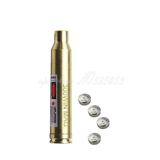 Tactical Jakt Cal .300 Vinn Bore Sattar Laser 300Win för Rifle Scope Red Dot Laser Bore Syn