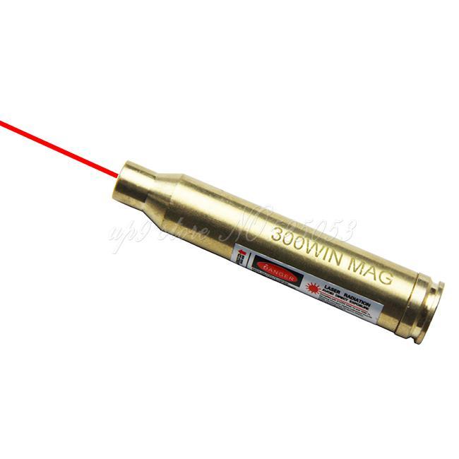 6 teile / los Taktische Jagd CAL. 300 GEWINN BOGEN SIGHTER LASER 300WIN Für Zielfernrohr Red Dot Laser Bore Sight