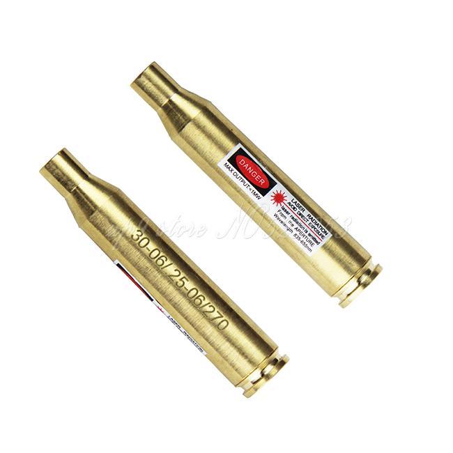 Tactical Jagd Zielfernrohr 30-06 .25-06 .270 Patrone Laser Bore Sighter Hight Qualität Messing