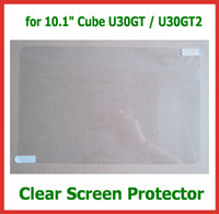 """Wholesale Screen Protector Cube - 10pcs Customized Clear Screen Protector for 10.1"""" Tablet PC Cube U30GT U30GT2 Size 256x166mm No Retail Packaging Protective Guard Film"""