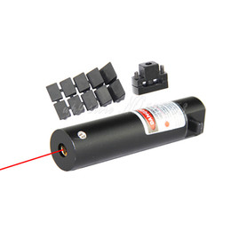 Wholesale Wholesale Sights Lasers - 6pcs lot Tactical Hunting Mini Red Dot Laser Sight for Pistol Handgun With Universal Mount