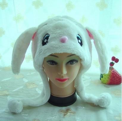 Stilvoller Karikatur-Tierhut-lange flaumige Plüsch-Kappen-Masken-Schal-Haube 3D Ohrenschützer-Kopfbedeckungen Tanzparty-Beaniemützen-Kappen stützen Pelz-Kostüm cosplay