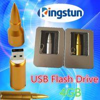 Wholesale Gb Bullet - Wholesale - - Free shipping bullet usb flash drive disk stick pendrive 4 GB USB FLASH DRIVE USB