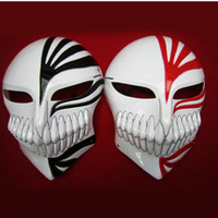 Wholesale Bleach Anime Mask - Wholesale - Anime cosplay props Bleach Kurosaki Ichigo mask comprehensive virtual mask