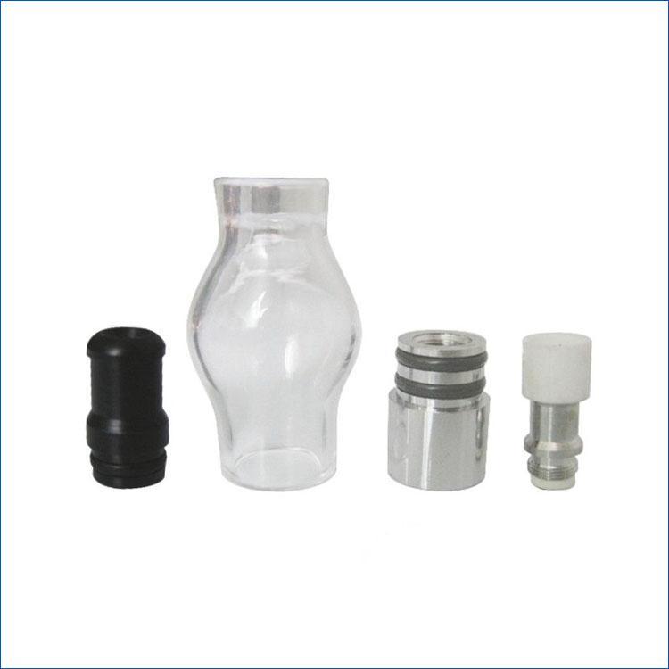 Il più economico atomizzatore di vetro atomizzatore del carro armato del globo di vetro della cera più atomico Clearomizer atomizzatore la sigaretta elettronica E Cig eGoT batteria di torsione di EVOD