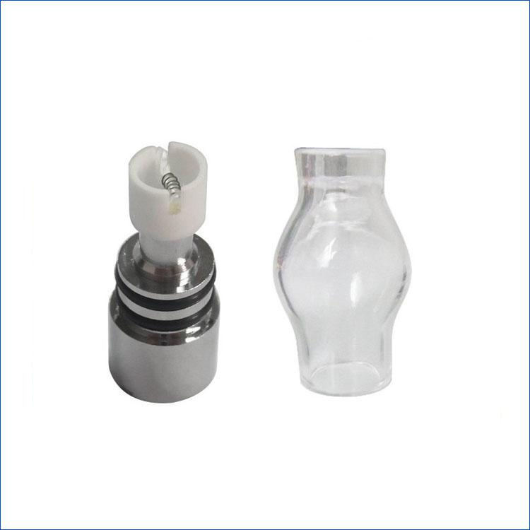 Cheapest Wax Atomizer Glass Globe Tank Dry Herb Vaporizer Clearomizer Atomizer for Electronic Cigarette E Cig eGoT EVOD Twist battery