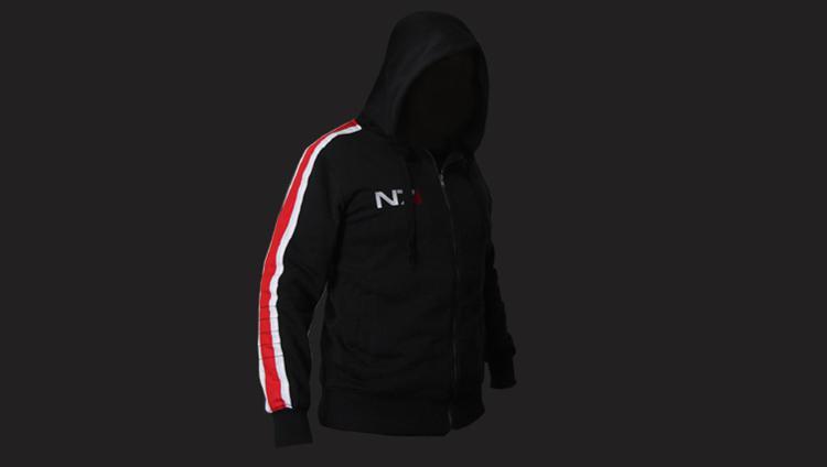 Mass Effect 3 III N7 Cotton Cosplay Hoodie Coat Costume Jacket