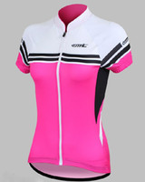 Wholesale 10pcsWomen Riding Bicycle Sportswear Cycling Bike Outdoor Sports Clothing Short Jersey Shirt Comfortable Breathable S XL