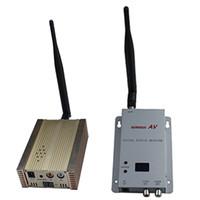Wholesale Long Range Wireless Video Transmitters Receivers - 1.2GHz 3000mW 15 channels long range wireless audio video transmitter and receiver