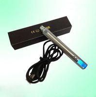 Wholesale Electronic Cigarette 3v 6v - HOTEST cheapest eGO V4 battery ego vv battery passthrough Battery Adjustable Voltage with LCD ego vv Battery 3V- 6V for protank series
