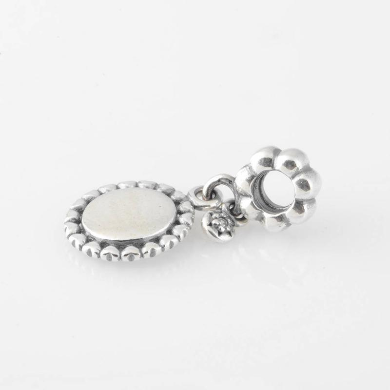 S925 Stamped Sterling Silver Screw Core Sweet Sister Dangle Charm Bead Fits European Style Jewelry Bracelets Necklaces & Pendants