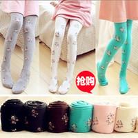 Wholesale Children Dance Bottom - Girl socks children Leggings pantyhose bottoming socks princess socks dance socks