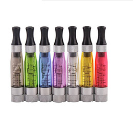 Wholesale Clearomizer Coloured - CE4S CE4+ atomizer newest cartomizer Clearomizer for ecig ego t,ego w e-cigarette electronic cigarette 8 colours 1.6ml 4 long wicks