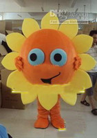 Wholesale Mascots Costumes Flowers - free shipping,Sunflower Flower Mascot Costume Fancy Dress,factory direct