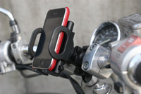 Wholesale Bicycle Mount Galaxy S3 - Universal 360 Degree Rotating Bicycle Bike Mount Holder Stand For iPhone 5 Samsung Galaxy Note2 N7100 Galaxy S3 iphone4S GPS