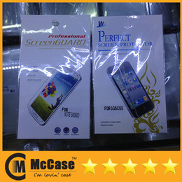 Wholesale M7 Screen Protectors - High Quality Clear Screen Protector Protectors Guard For iPhone 6 5 5S 5C 4 4S Galaxy S5 S4 S3 NOTE 3 2 HTC ONE M7 With Retail Package