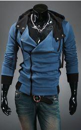 Wholesale Desmond Miles Hoodie Jacket - Hot New Assassin's Creed 3 Desmond Miles Hoodie Top Coat Jacket Cosplay Costume