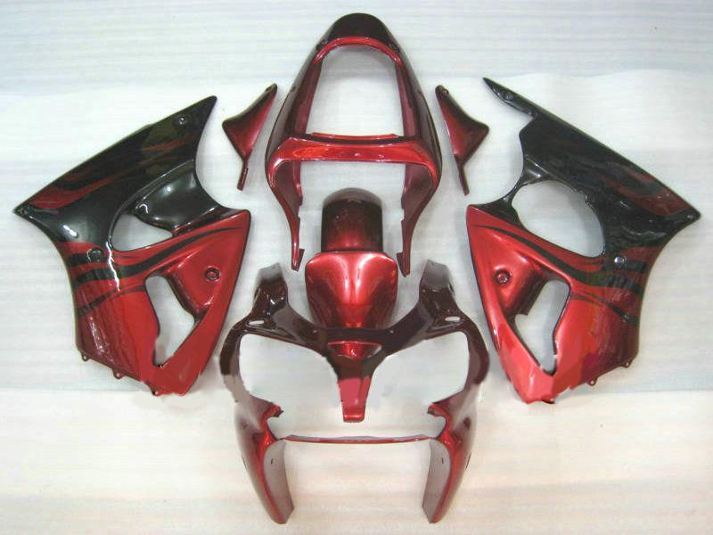 Einspritzverkleidungskörper-Kit Für KAWASAKI Ninja 2000 2001 2002 ZX-6R ZX6R 636 ZX 6R 00 01 02 Verkleidungskörper + Geschenke KP20