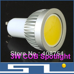 Wholesale Mr16 Cw - LED COB light, High brightness 3W spotlight,MR16 GU10 E27 B22,WW NW CW, 270LM ,LED lamp, 20pcs lot