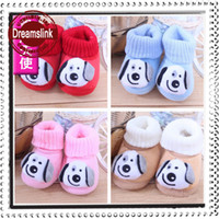 Wholesale Hand Warmers Retail - 2014 New style Retails Factory price infant baby shoes infant boots winter warm shoes toddle walking boots girls boys 1pair in hand