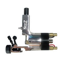 Wholesale Tattoo Professional System - 2015 Top Recommanded professional First Spring Powered System Aircraft Aluminum Nedz Rotary Tattoo Machine for liner&shader free shipping