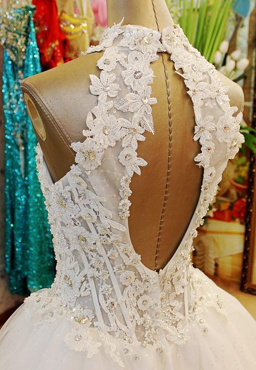 Bästsäljande 2019 Fashion Ärmlös Beaded Key-Hole Tillbaka A-Line Short Party Prom Klänningar Evening Dresses XI50