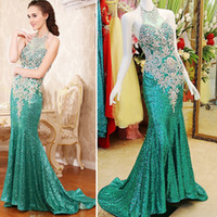 Wholesale sexy corset halter strap - Best Selling 2018 Fashion Beaded Crystal Mermaid Halter Corset Back Party Prom Dresses Evening Dresses Xi53