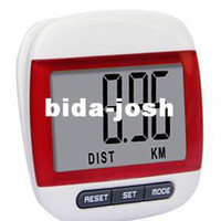 Ampio display LCD con pedale Passo Pedometro Walking Calorie Distance Counter A68