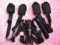 Роль запястья лодыжки Bondage Fetish Nylon UNDER THE BED Cuffs Tie 4 x Restrain