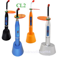 Wholesale Cordless Led Dental - Hot Sale and Best Quality CE 4 Colors Dental 5W Wireless Cordless LED Curing Light Lamp 1500mw