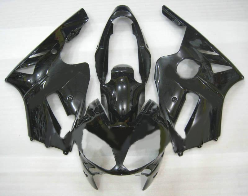 Verkleidungsset für KAWASAKI Ninja ZX12R ZX 12R 2002 2004 2005 ZX-12R 02 03 04 05 Alle schwarz glänzend Verkleidungsset + Geschenke KX76