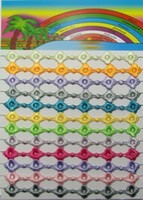 Wholesale Italy Flower Bracelet - handmade multi colors italy lace macrame bracelet jewelry for women flower clover design