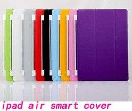 Ups Air Canada - Leather Smart Cover Magnetic Case stand holder for Ipad 5 ipad air ipad 2 3 4 ipad mini mini 2 Sleep Wake Up 9 Colors