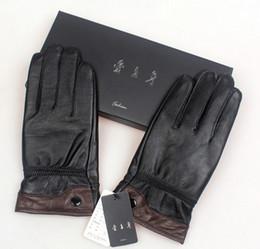 Wholesale Sheep Skin Leather Gloves - Moto Racing Gloves Leather motorcycle gloves for men cycling gloves Perforated Leather Motorcycle Gloves sheep skin free shipping