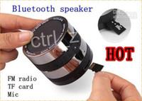 Wholesale Loud Bluetooth Speaker Ipad - New Wireless Bluetooth Stereo Loud Speaker Super Bass Portable Speakers Speakerphone Loudspeaker for iPhone 5s 5c note tab 3 ipad air mini