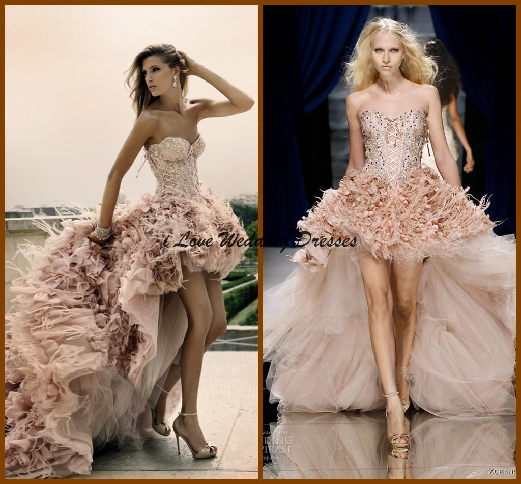 Discount Hi Lo Sweetheart Wedding Dresses Super Fashion