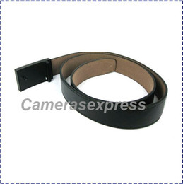 Wholesale Dvr Belt - HK Post Free Shiping Wholesale Voice-Activated leather Belt Buckle Hidden pinhole spy Camera, Belt DVR, Belt Camcorder spy camera