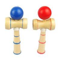 ingrosso giochi di natale giapponese-Divertente gioco Bahama in legno tradizionale Gioco Kendama Ball
