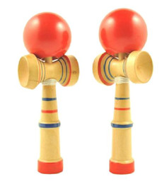 Kendamas Skill Kendama Ball Bambini Educational Toy Funny Bahama Traditional Wood Game in Offerta