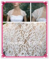 Wholesale lace bridal jackets for sale - Group buy Bridal Jacket Shawls Wraps Ivory Lace Bolero