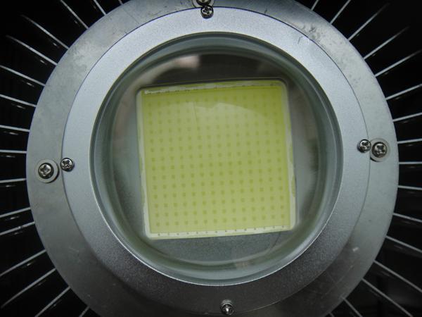 Fin radiatore 100w 150w 200W High Bay light stadio corte led illuminazione magazzino officina lampada 3 anni garanzia Meanwell driver bridgelux