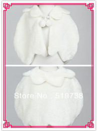 $enCountryForm.capitalKeyWord Canada - Evening Party Wedding Shawl Flower Girl Faux Fur Jacket