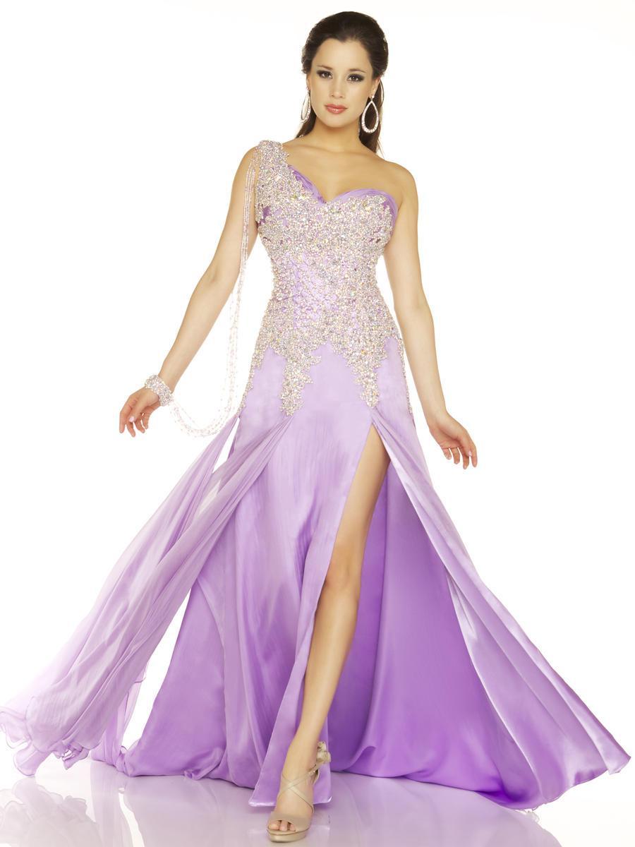 Light Purple Long Dresses