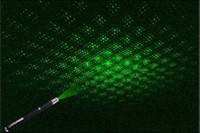 Wholesale Green Ray Beam - 532nm 5mW Green Ray Beam Pen Laser Pointer with 5 Different Laser Patterns Xmas Gifts ZXJ