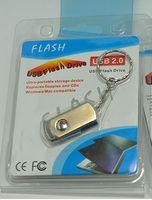 metal usb key ring großhandel-128GB 256GB USB 2.0 Metall Schlüsselanhänger Ring USB Memory Stick U Festplatte Flash Drive